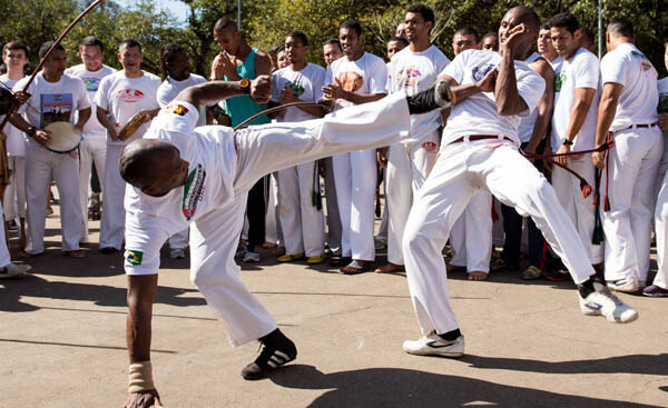 A Capoeira masterclass on the streets of Brazil